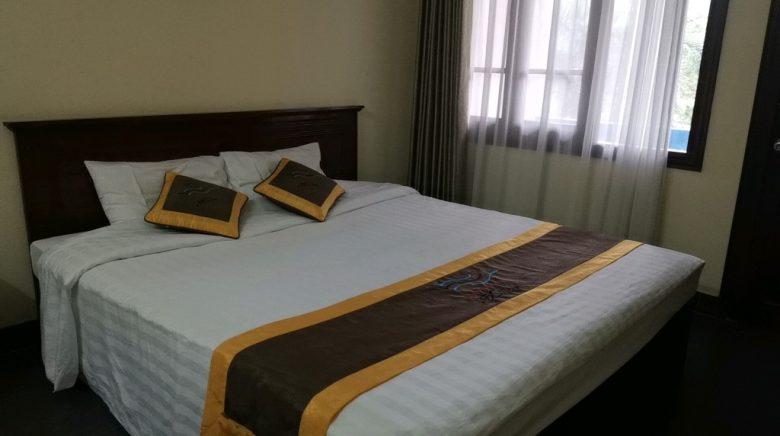 ハイアウホテルのベッド