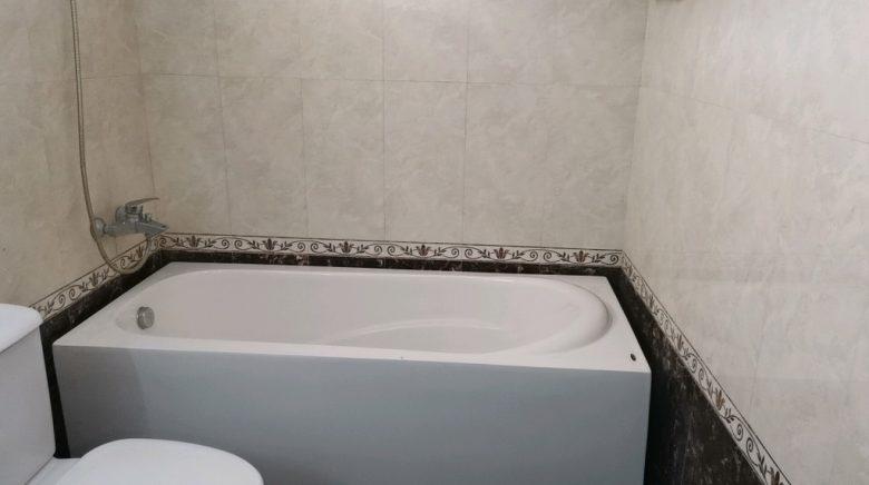 ハイアウホテルの浴槽
