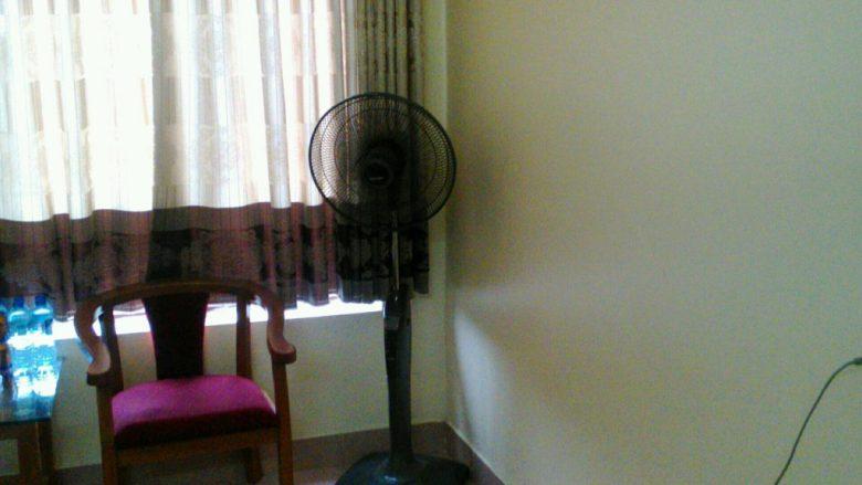 サイズオン・ホテルの扇風機